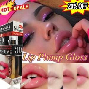 Shiny Lip 3D Sexy Super-Volume Plumper Plumping Lip Gloss Doll Lipstick