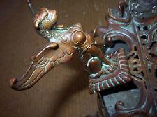 Sphinx-Bronze-Schreibtischgarnitur-Französisch-Tintenfass-1880-1890