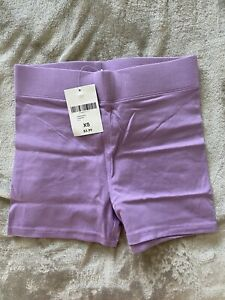 NEW WITH TAGS Forever 21 Lavender Cotton Short Shorts Size XS