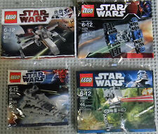 Lego Star Wars Minis 30051 30056 8028 30054 X-Wing Tie Fighter Destroer AT-ST