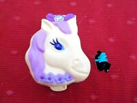 POLLY POCKET BLUEBIRD 1994 PONY RIDING PET PARADE WITH HORSE SWINDON, UK