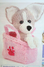 Dog/Puppy Toy Knitting Pattern