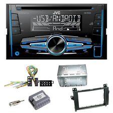 JVC KW-R520 Autoradio CD USB MP3 AUX Einbauset für Mercedes Vito Viano W639