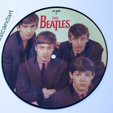 THE BEATLES LOVE ME DO 7-INCH VINYL PICTURE DISC 45 PARLOPHONE UK EX+ RARE