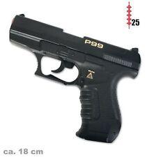 Pistole Agent P99, (25er-Streifen Munition), ca. 18 cm Länge
