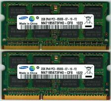 SAMSUNG 6GB 3X2GB PC3-8500 DDR3 SODIMM MEMORY FOR APPLE IMAC & Laptop