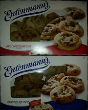 Entenmann's Chocolate Chip & Milk Chocolate Chips Cookies-(2-12oz each)-Priority