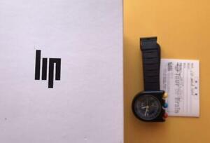 lip mach 2000 watch black Mens 1892512 Chronograph