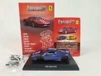1:64 Kyosho Ferrari Minicar Collection 10 458 Speciale 2013 Italia Blue M/White