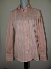 Free Shipping Sale Cheapest Womens Petite Cotton Stripe Vest Top - 16-18 - WHITE Lands End SSDZTVp0