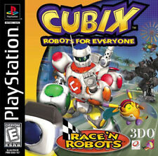 Cubix Robots for Everyone PS New Playstation