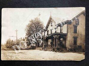 RPPC-Plumsteadville PA-Yost General Store-Craven-Doylestown-Easton-Bucks County