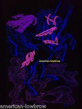 Gypsy Woman Psychedelic Art Blacklight Poster Woodstock Pot Weed Unicorn