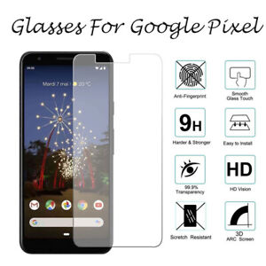 For Google Pixel 2 3 XL 3A XL 4 XL 4A 5 5G TEMPERED GLASS Screen Protector Cover