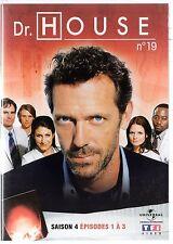 Dr HOUSE - Intégrale kiosque TF1 Video - Saison 4 - dvd 19 - Episodes 1 à 3