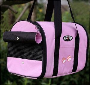 5 Color Pet Carrier Dog Cat Tote Travel Carry Bag Handbag