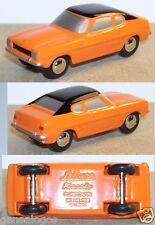 MICRO METAL SCHUCO PICCOLO FORD CAPRI ORANGE TOIT NOIR 1/90 NO HO REF 5241