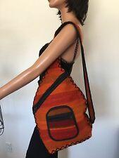 Gilim  Rug Bag Shoulder Designer Bohemian Fashion Hip Artisan Tribal