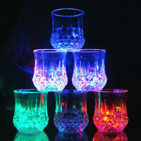 Colorful LED Wine Whisky Cup Flash Light Beer Drink Glass Bar Party