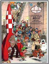 KUIFJE**COMICS MUSEUM BRUSSEL-TINTIN RAKET/FUSEE-Blok-2009-SPIROU-NERO-Belgie