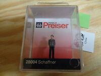 H0 Preiser 28004 Schaffner. Figura. Conf. Orig.
