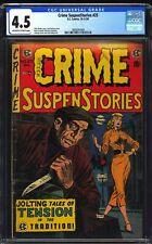 Crime SuspenStories 25 CGC 4.5