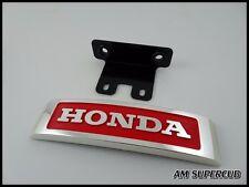 HONDA MONKEY Z50 Z50J Z50A  FRONT PLATE LOGO EMBLEM RED CHROME , High Quality
