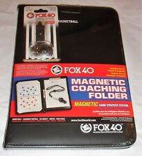 Fox 40 Magnetic Coaching Folder - Basketball