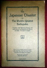 Great Kanto Earthquake 1923 Japan Disaster by Pentecostal Missionary BS Moore