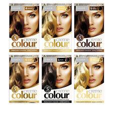 2x Glamorize Permanent Hair Dye Colourant Colour Blonde Brown Mahogany Black OTL