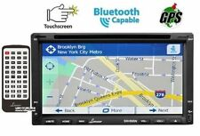 "Lanzar SNV695N 6.95"" Double-Din DVD GPS Bluetooth CD USB/SD AUX Receiver &Remote"