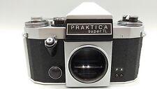 + Praktica Super TL Pentacon Rangefinder Film Camera Body +Leather Case PERFECT!