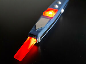 6th Doctor Sonic Lance Inspired Replica With Lights - Doctor Who Prop