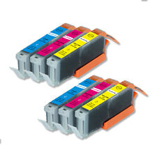 6 COLOR PK Replacement Ink for Canon CLI-251XL MG6600 MX920 MX922 iP7220 iX6820