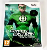 WII Green Lantern Rise Of The Manhunters Game Nintendo System Console PAL