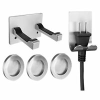 Stainless Steel Wall Mount Bracket Holder Stand For Dyson Supersonic Hair Dryer