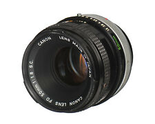 Canon Lens FD 50mm f1.8 S.C. Made in Japan
