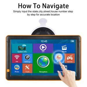 9 Inch Truck GPS Touchscreen Trucking 8GB GPS Navigation for Truck Navigate Fast