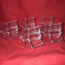5 Bird Cups x Cage Clip On Water Food Bowl Feeder 2 Hook Cup Budgie Canary Finch