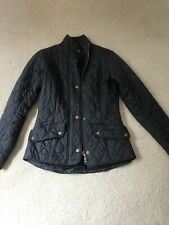 barbour Ladies jacket 8 Flyweight Cavalry Good Condition.