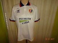 "Cagliari Calcio Original errea Heim Trikot 1994/95 ""PECORINO SARDO"" Gr.M"
