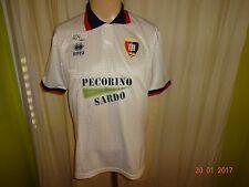 """Cagliari CALCIO ORIGINALE ERREA maglia di casa 1994/95 """"pecorino sardo"""" Taglia M"""