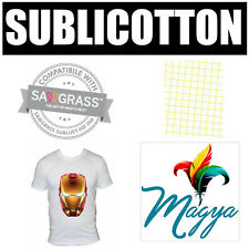 "Sublicotton Transfer Paper 20 Sh Pk 8.5""X11"" Sublimation paper for Cotton #1"