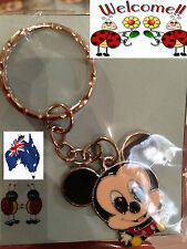 "DISNEY MICKEY MOUSE ""BABY MICKEY"" PENDANT KEYRING CHAIN GREAT VALUE AUS SELLE 1W"