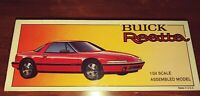 Vintage Buick Reatta 1/24 Scaled Collectible Assembled Car Model Factory Sealed