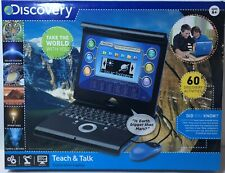 Discovery Kids Teach & Talk Exploration Laptop 60 New Discovery Activities