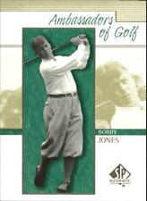 "2001 Upper Deck SP ""Ambassadors of Golf"" Bobby Jones"
