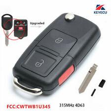 Upgraded Flip Remote Key Fob 80Bit for Ford Lincoln Mazda Mercury - CWTWB1U345