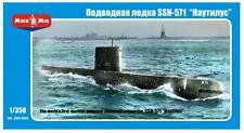 "Micro-Mir #350-009, 1/350, American nuclear-powered submarine SSN-571 ""Nautilus"""