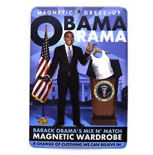 Barack Obama obama-rama magnétique garde-robe Aimant de réfrigérateur ensemble